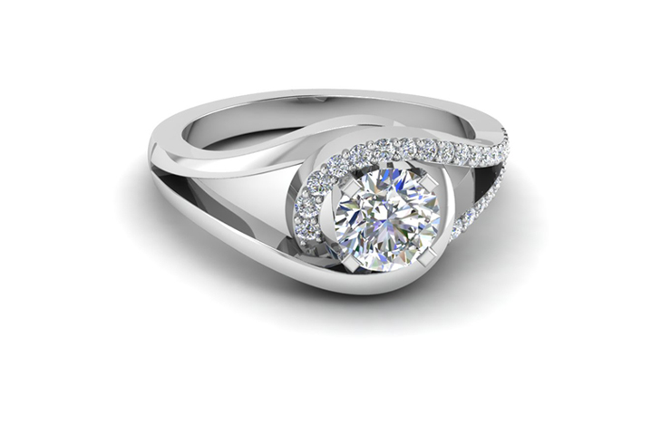 Round Cut Split 