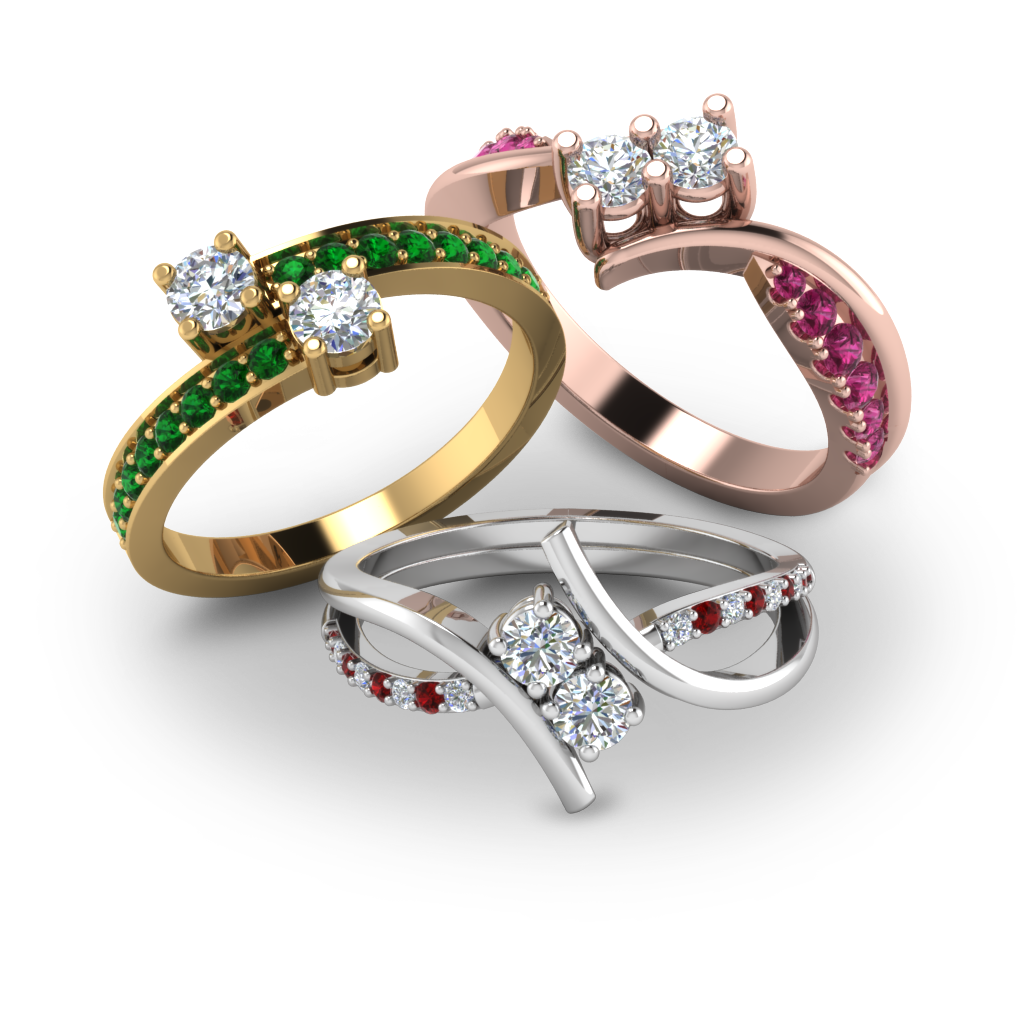 TWO-STONE-RINGS