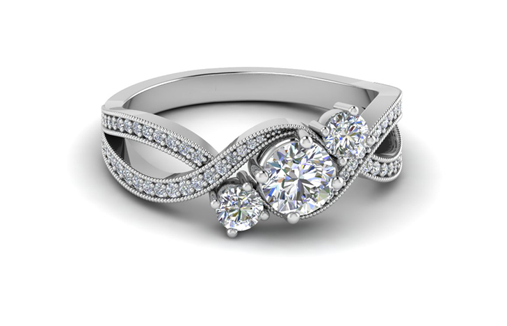 Round Cut Vintage 