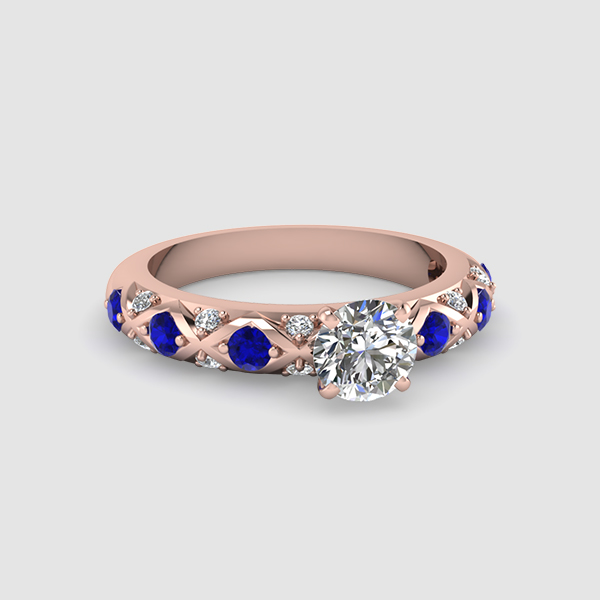 Brilliant Cut Engagement Rings