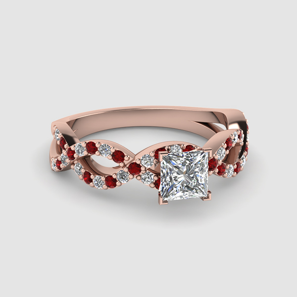 Inifnity Engagement Rings