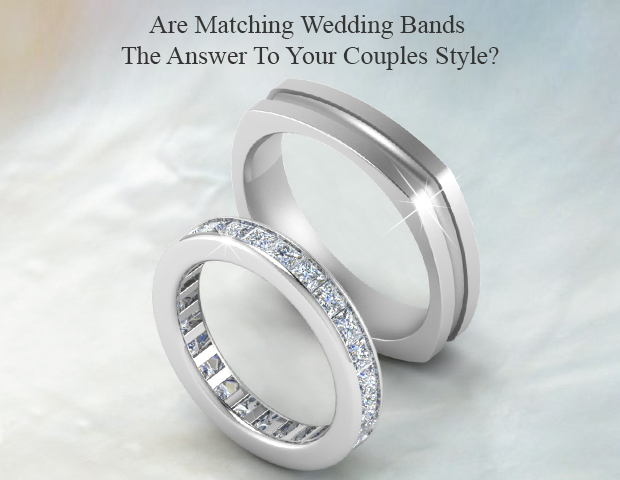 Matching Wedding Bands Style For Couples