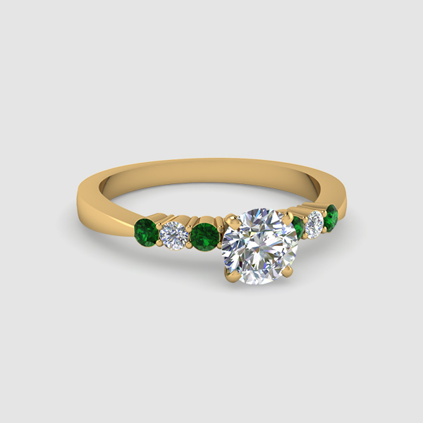 Popular Round Engagement Rings