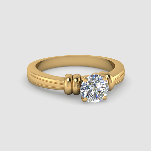 Circle Engagement Ring