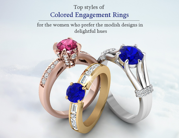 Is Colored Ring A Fresh Take On The Traditional Sparkle?