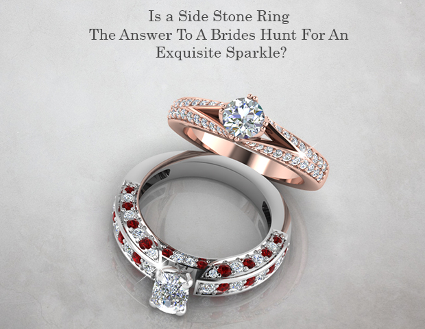 Is a Side Stone Ring The Answer To A Brides Hunt For An Exquisite Sparkle?