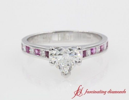 Unique Gemstone Engagement Ring For Her