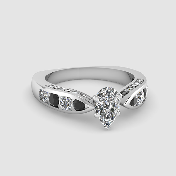Micropave Engagement Rings