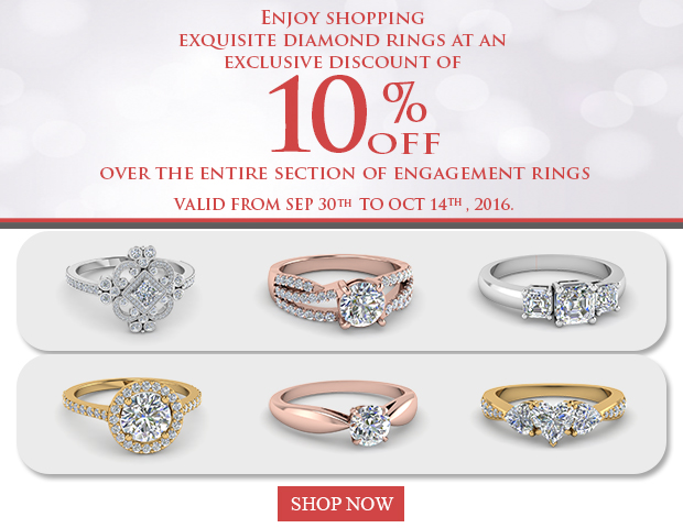 engagement rings sale banner