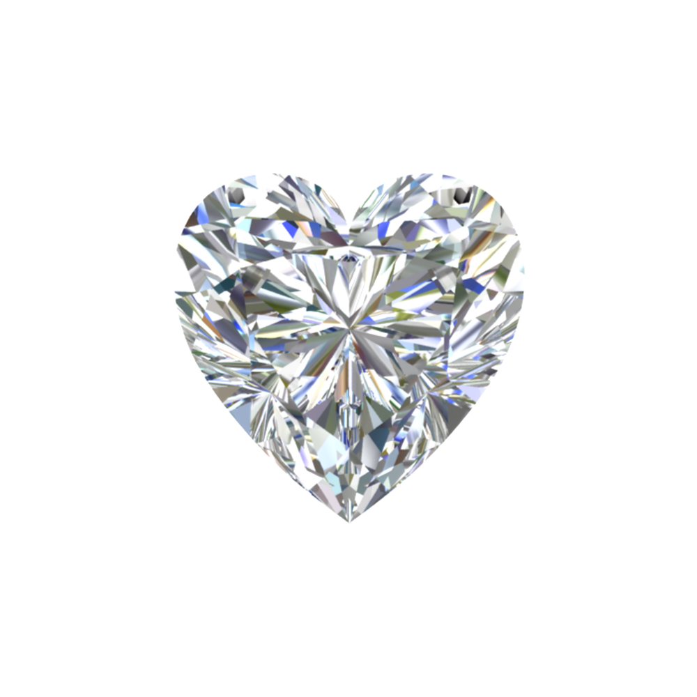 GIA Certified 1.06 Carat Heart Cut Diamond with E Color, VS1  Clarity, Excellent  Cut