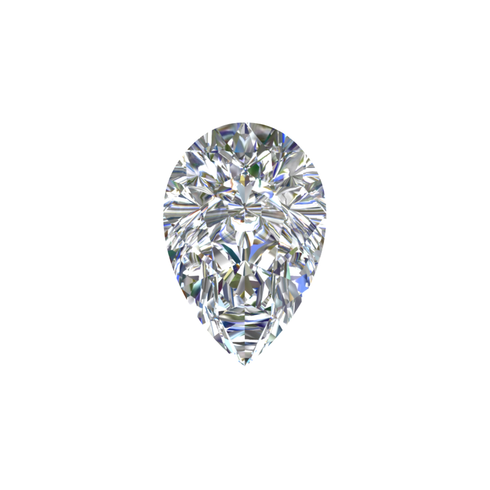 GIA Certified 0.82 Carat Pear Cut Diamond with D Color, SI2  Clarity, Very Good Cut