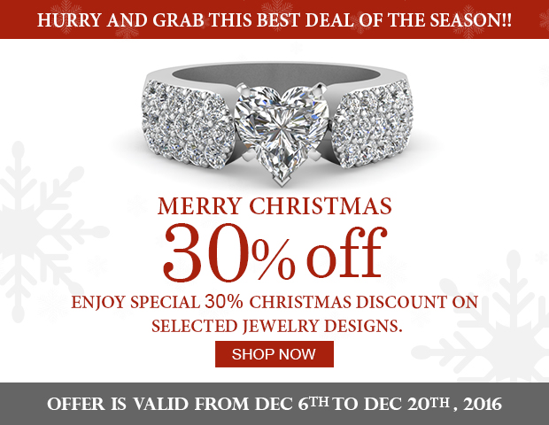 Massive Discount Of 30% Off On Selected Diamond Jewelry