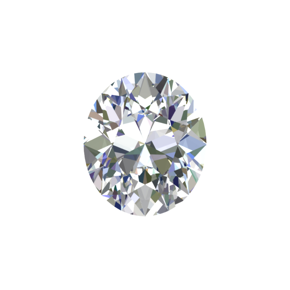 GIA Certified 0.51 Carat Oval Cut Diamond with D Color, SI2 Clarity, Excellent Cut