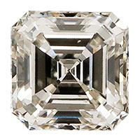 0.40 Carat Asscher Cut Diamond