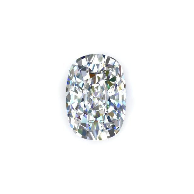 GIA 1.03 Carat Cushion Cut Diamond With H Color SI2 Clarity