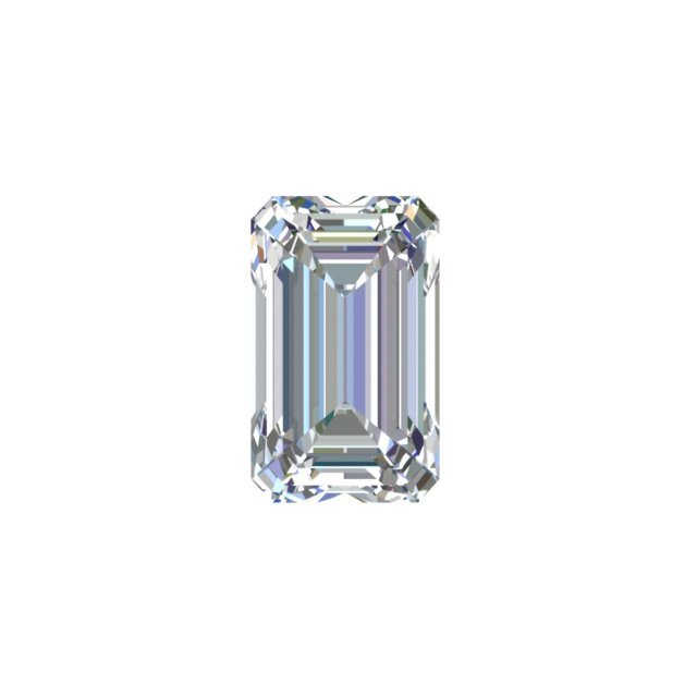 GIA 0.87 Carat Emerald Cut Diamond G Color VVS1 Clarity