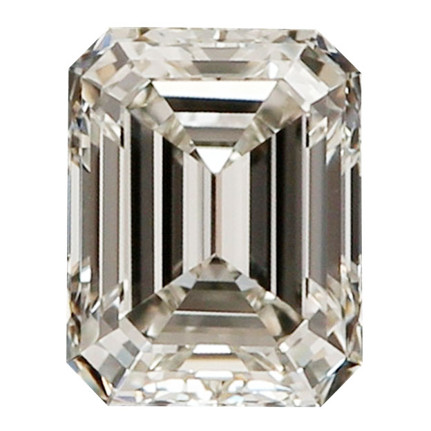 0.70 Carat Emerald Cut Diamond