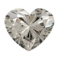 0.35 Carat Heart Cut Diamond