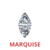 0.75 Ct. Marquise Cut Diamonds