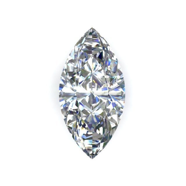 GIA 0.7 Carat Marquise Cut Diamond H Color VS1 Clarity