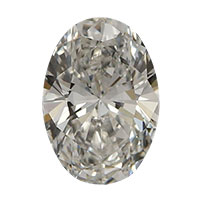 0.50 Carat Oval Cut Diamond