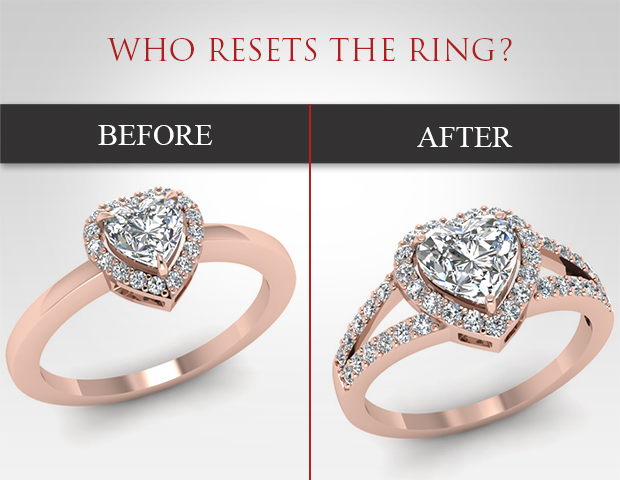 Who Why And How To Reset The Ring Fascinating Diamonds