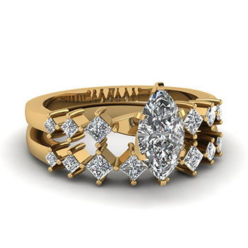 1 Carat Marquise Cut Diamond Ring