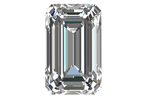 Emerald Cut Diamonds Certified