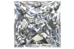 1/2 Carat Square Diamonds