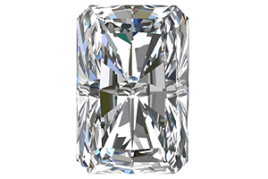 3/4 Karat Radiant Cut Diamond