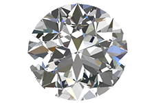 Half Carat Round Cut Diamond