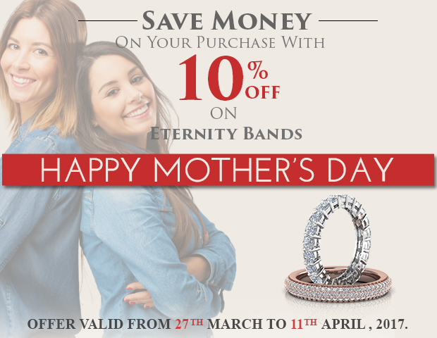Save Money On Your Purchase With 10% Discount On Eternity Bands