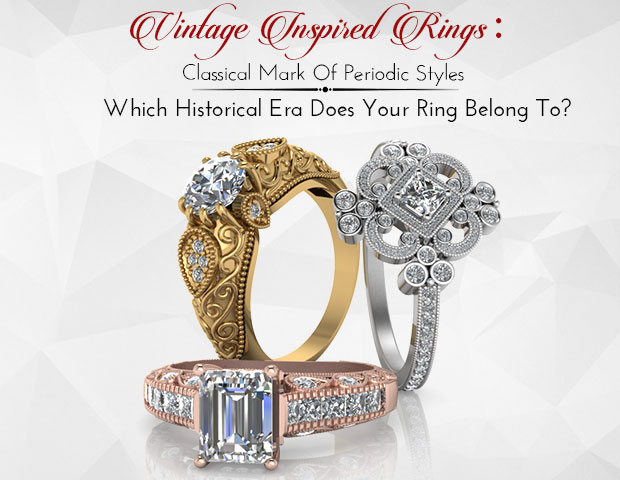 Vintage Inspired Rings: Mark Of Periodic Styles