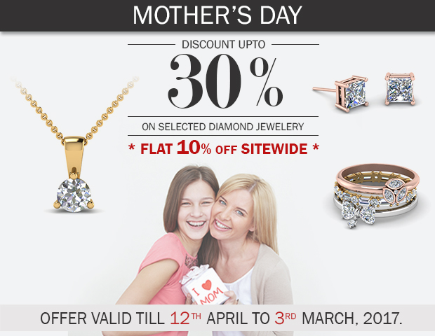 Exclusive 30% Off On Selected Diamond Jewelry With Flat 10% Sitewide