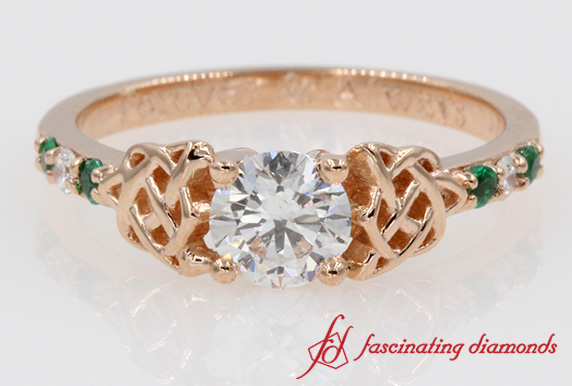 Irish Design Diamond Ring