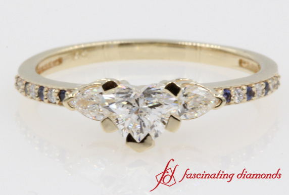 Delicate Accent Diamond Ring