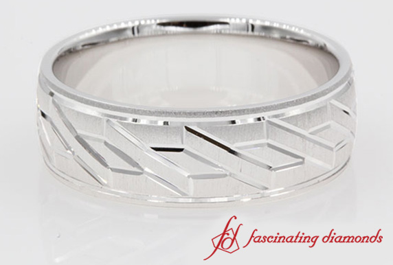 Unique Wedding Band For Men