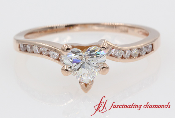 Channel Diamond Petite Ring