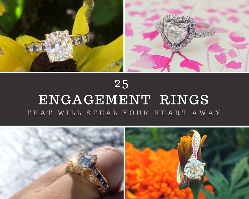 25 Best Engagement Rings, That Will Steal Your Heart Away!!