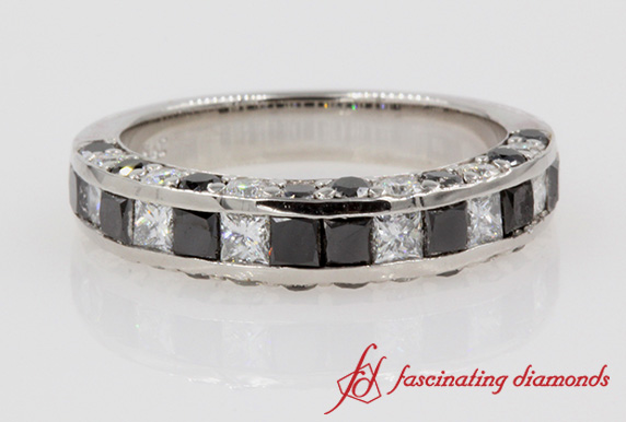 Black Diamond Channel Set Band