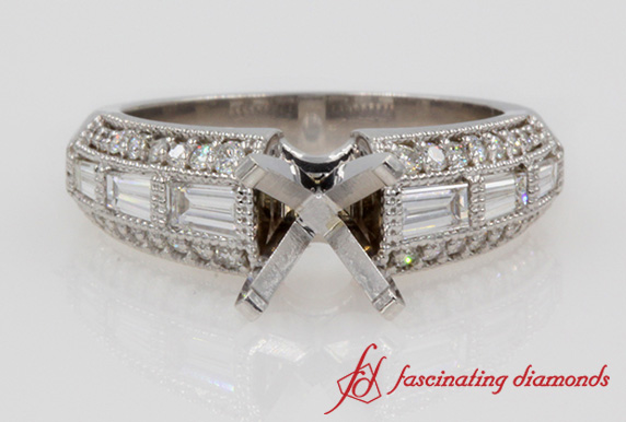 Edwardian Engagement Ring Setting