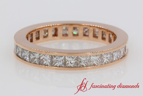 2 Carat Princess Cut Eternity Ring