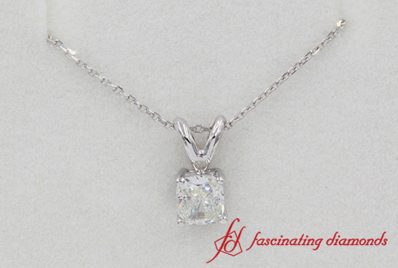 0.50 Ct. Solitaire Diamond Pendant
