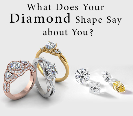 What Does Your Diamond Shape Say About You ?