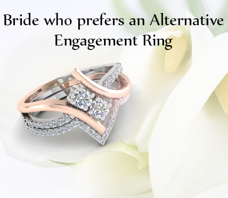 Bride Who Prefer Alternative Engagement Ring