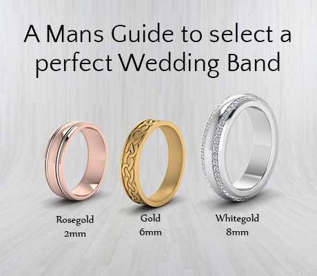 A Mans Guide To Select A Perfect Wedding Band…