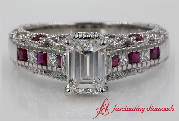 Ruby Filigree Ring