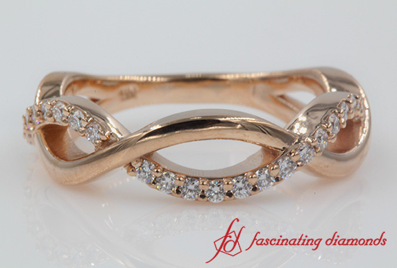 Infinity Diamond Womens Band