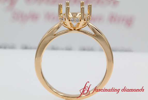 Six Prong Ring Setting