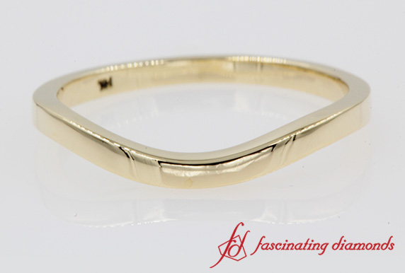 Yellow Gold Plain Band